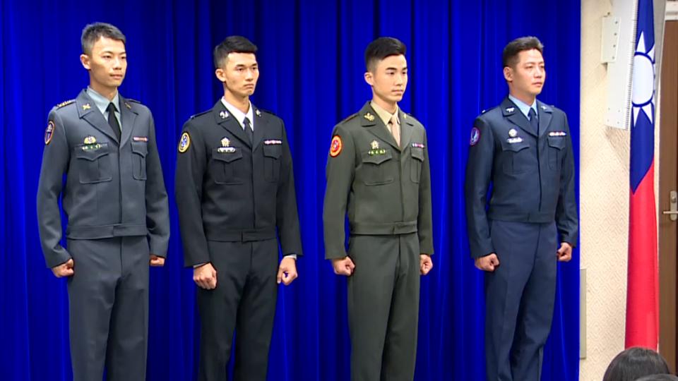 國軍「華麗」換裝!花兩億訂造「艾森豪夾克」