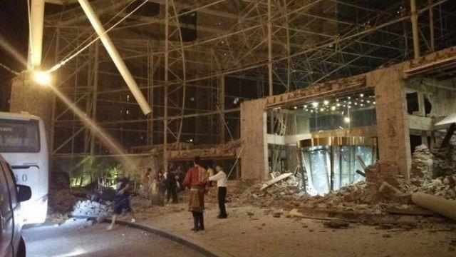 尖叫逃竄!九寨溝7.0強震狂搖1分鐘 飯店倒塌逾千人受困