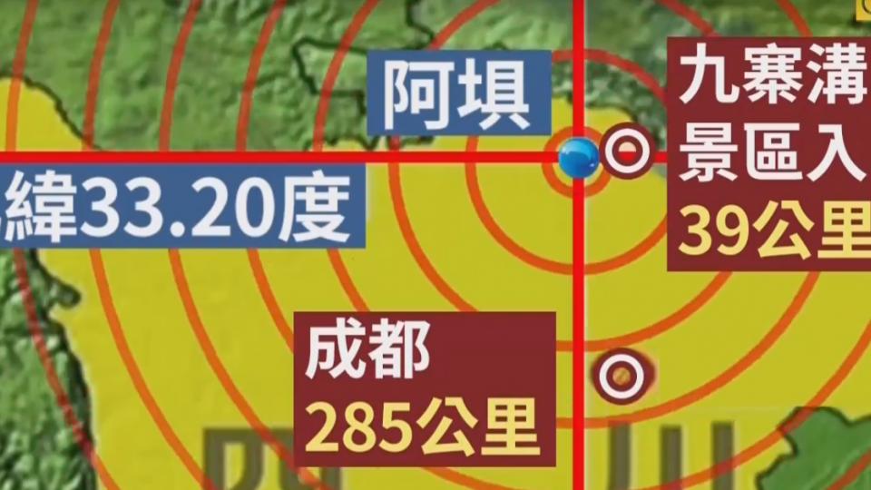 九寨溝7.0強震13死175傷 救援隊伍進重災區