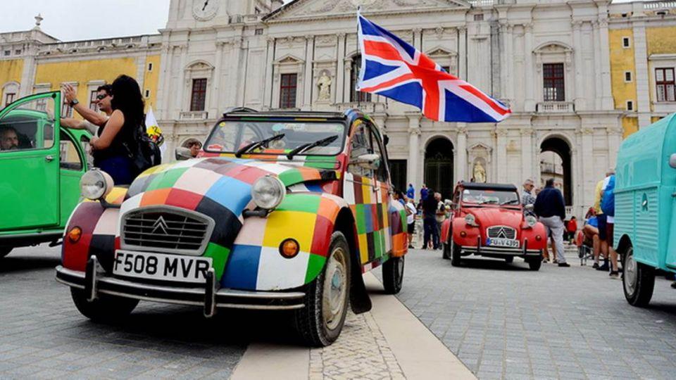 法國超可愛古董小車CITROEN 2CV 葡萄牙大會師