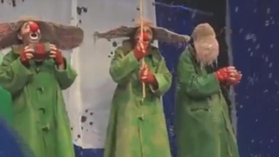 俄丑劇大師「下雪了」登台 找回失落童真