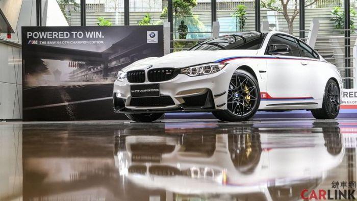 當今最強BMW M4 DTM冠軍版 全球限量200台!