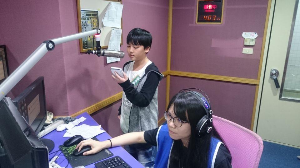 小小DJ練習生培訓營 培養未來廣播生力軍