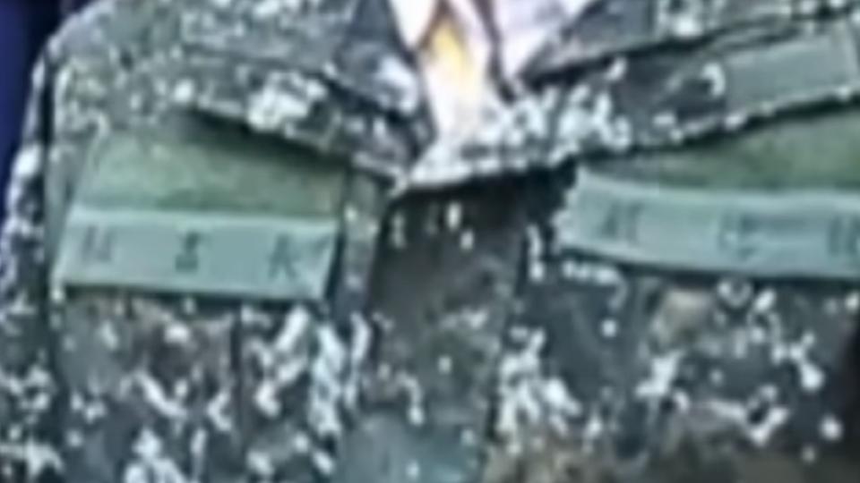 蔡總統兵推發表演說 穿軍裝沒國旗引議論