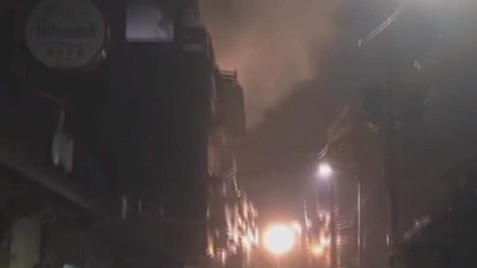 士林「頂加」公寓惡火 疑外籍情侶喪火窟