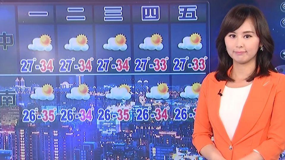 【2017/08/13】又是悶熱天 今最高溫台北37.2板橋37.1度