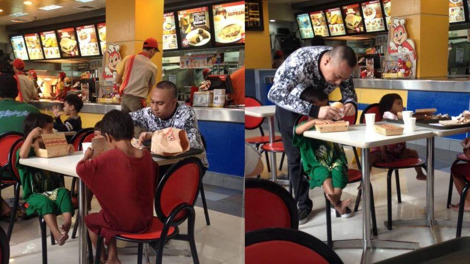 暖心!男請乞討3兄妹吃飯 男童「一句話」引淚崩