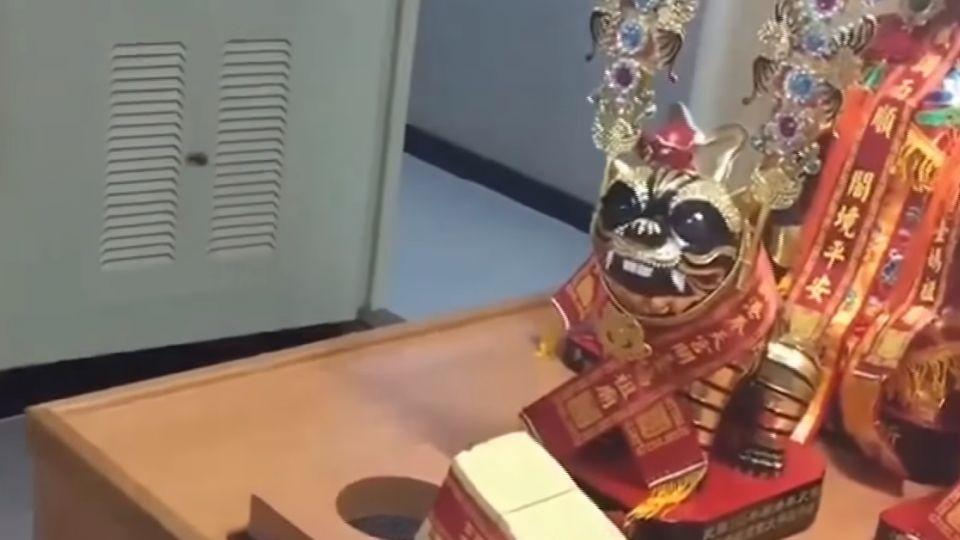 奉天宮媽祖低調分靈太平島 信徒:委屈