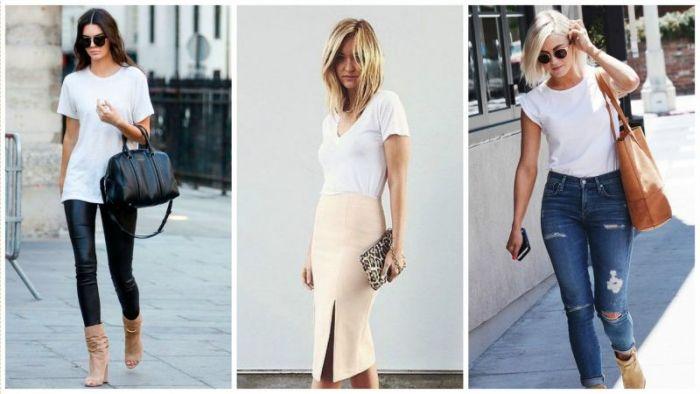 【美麗佳人】誰說不能又懶又美?5種白T實搭法 讓你一秒變時尚