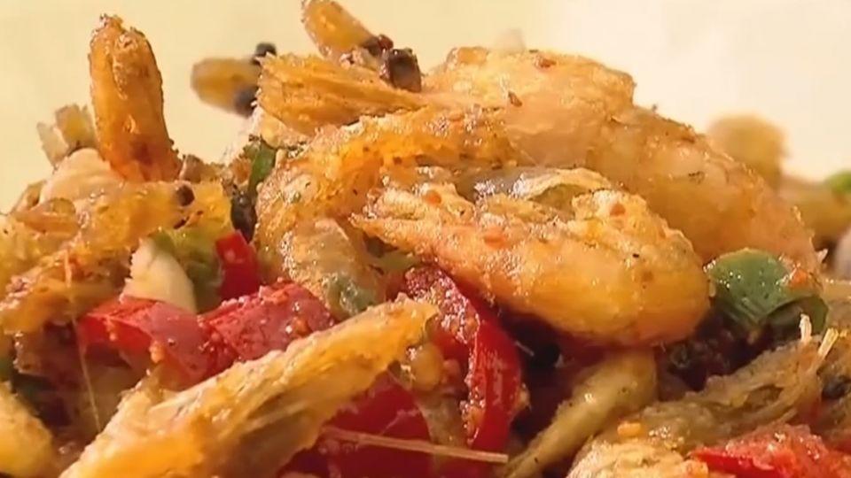 「蝦米」遠洋打撈量多便宜「溪蝦」量少大小不一