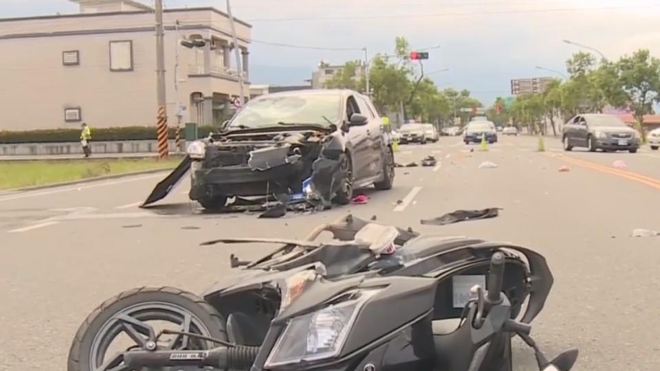 大停電惹禍? 宜蘭縣三星鄉驚傳嚴重車禍
