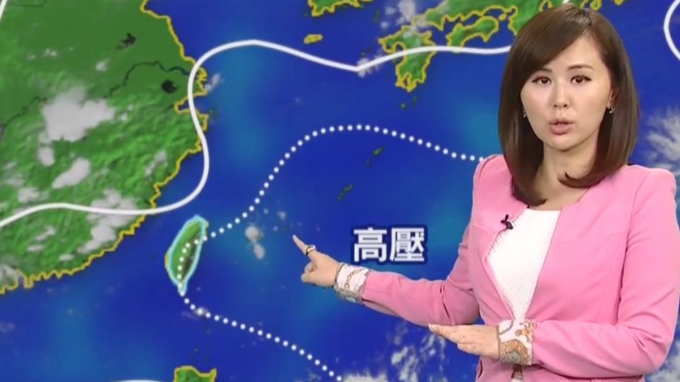 【2017/08/17】今轉偏南風 華南暖空氣影響減少 台北仍36.8度