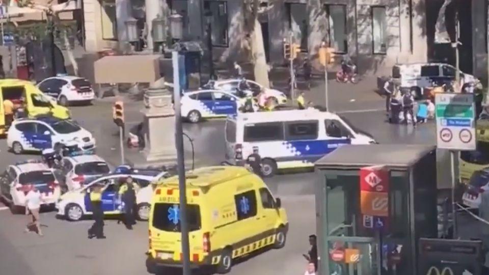 巴塞隆納汽車恐攻 釀13死百傷 IS坦承犯案