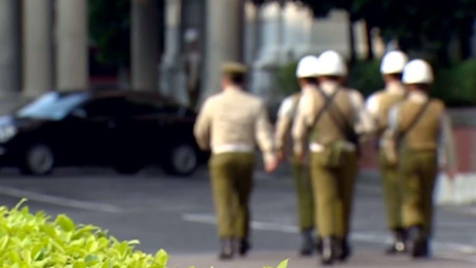 憲兵訓練一周就上哨 西大門又稱「菜鳥門」