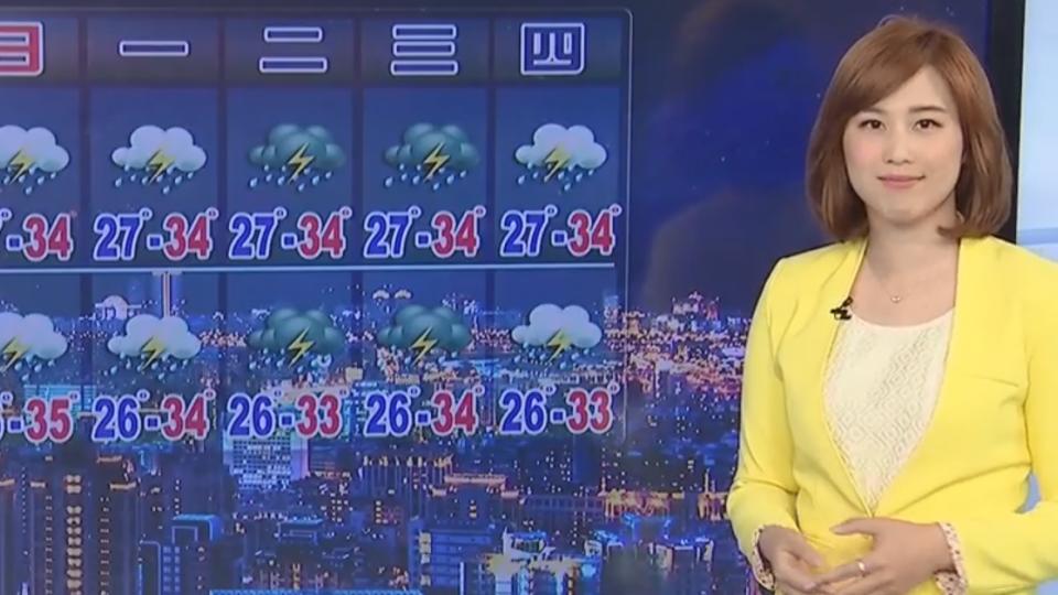 【2017/08/19】持續受高壓影響 台北36.6度 板橋35.5度