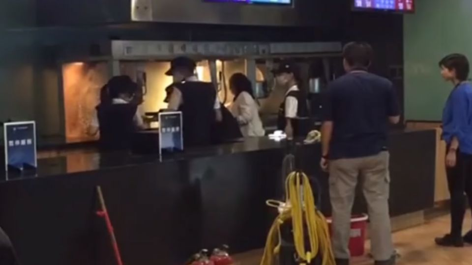 驚! 新竹影城爆米花發爐 火勢猛烈超嚇人