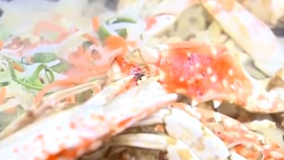 桂花炒蟹、中卷米粉 梧棲現撈海鮮霸氣上桌