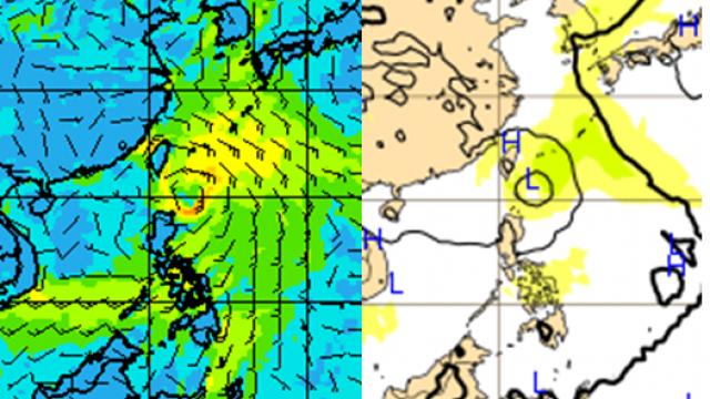 最快今晚發海警 !「熱帶性低氣壓」火速移動  下周恐雙颱亂舞