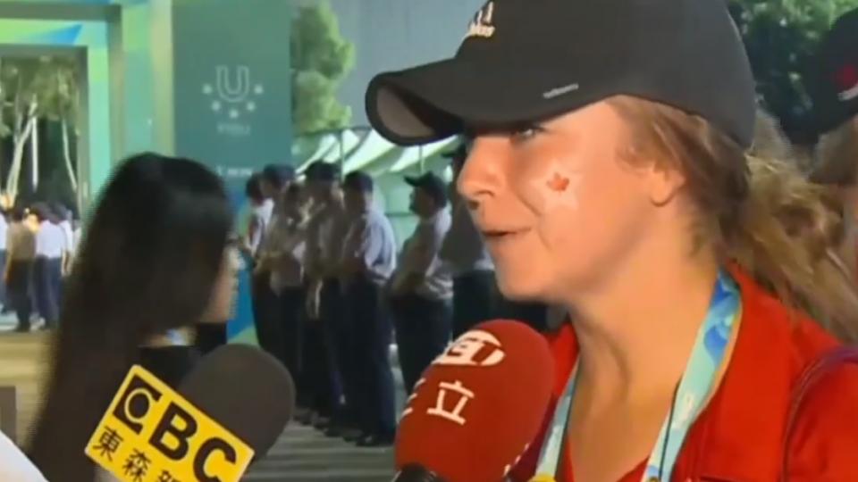 世大運遭反年改鬧場 外國選手:有點害怕