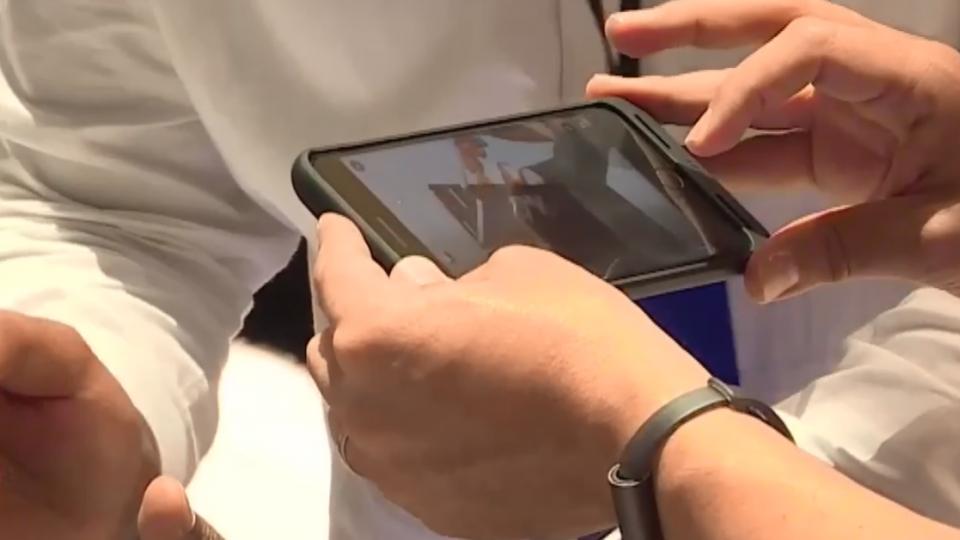 紐約直擊 三星Note8正式亮相嗆聲iPhone