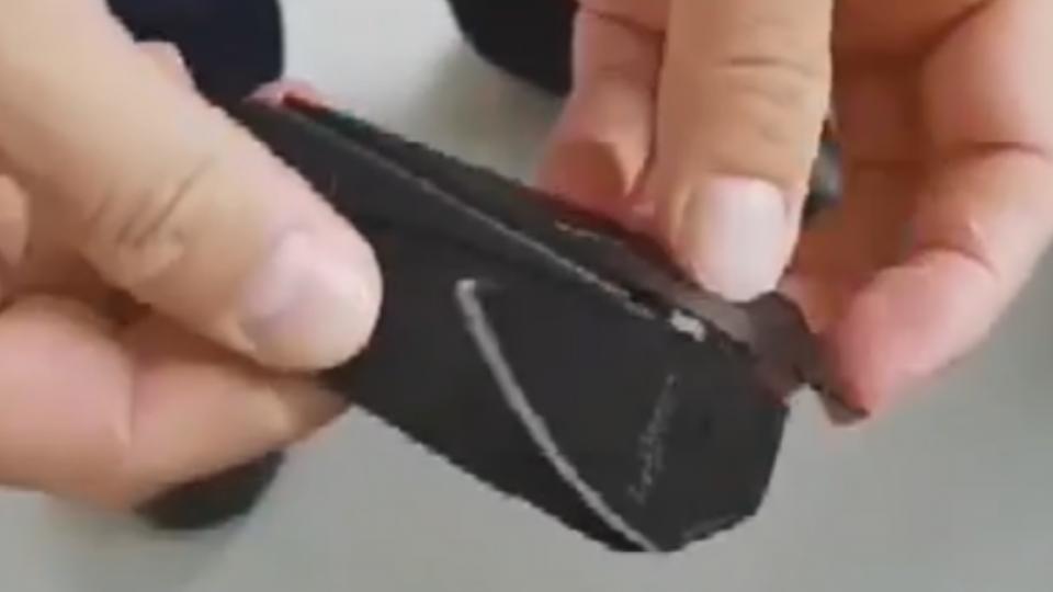 國中生帶名片刀觀賽 遭安檢沒收稱「拆信」用