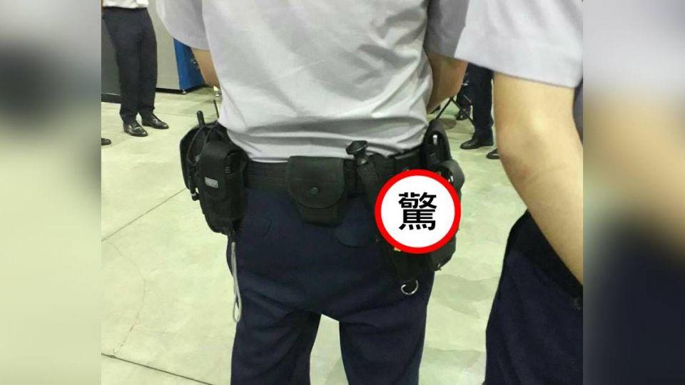世大運維安警背影照「有亮點」!網直呼:警察辛苦了