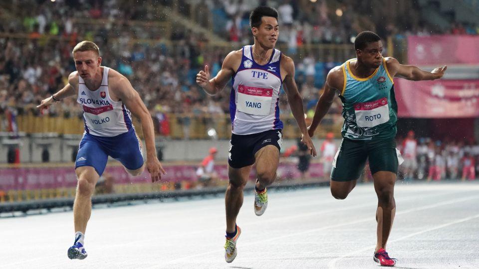 楊俊瀚從小立志當運動員 如今成「全台最速男」