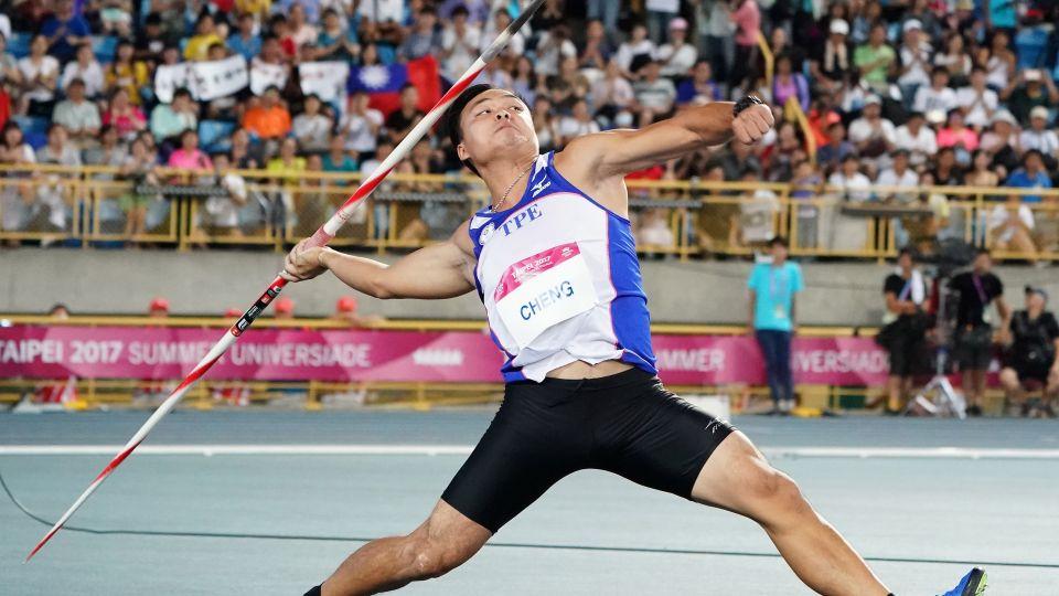 破亞洲紀錄!鄭兆村標槍擲91公尺36 勇摘金牌