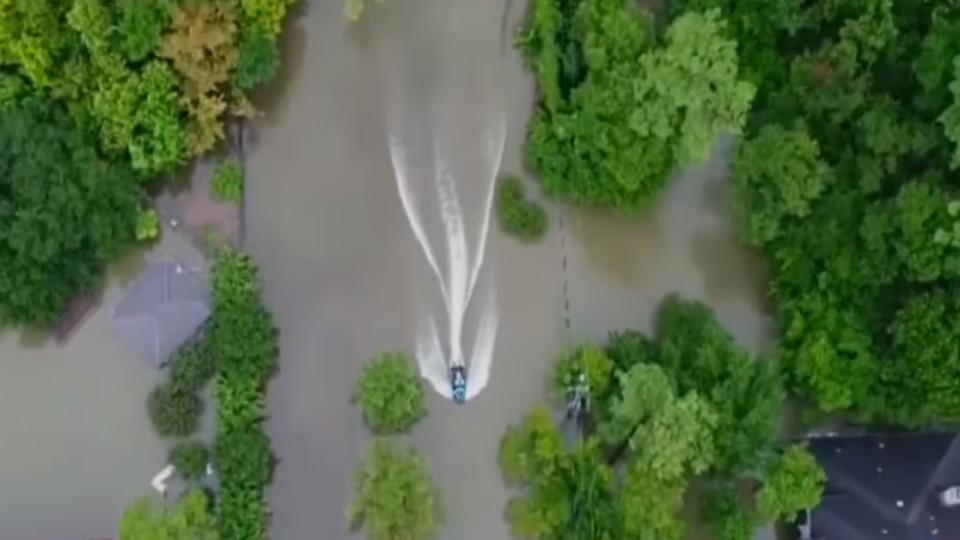 休士頓泡水! 哈維颶風襲德州降暴雨 5死30傷