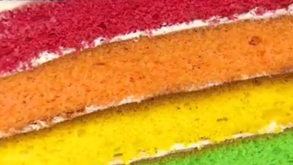 繽紛彩虹蛋糕 新加坡女孩一圓台灣創業夢