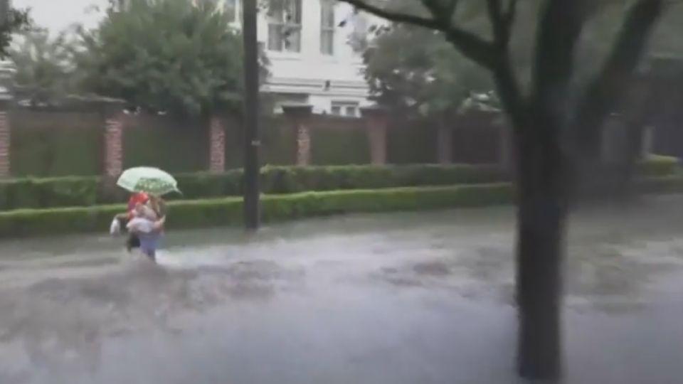 怪獸風暴「哈維」襲德州 保險理賠估1800億
