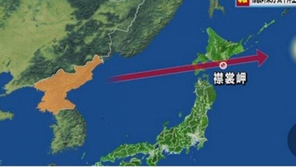 北韓飛彈飛越日本上空!日本民眾緊急避難、電車一度暫停