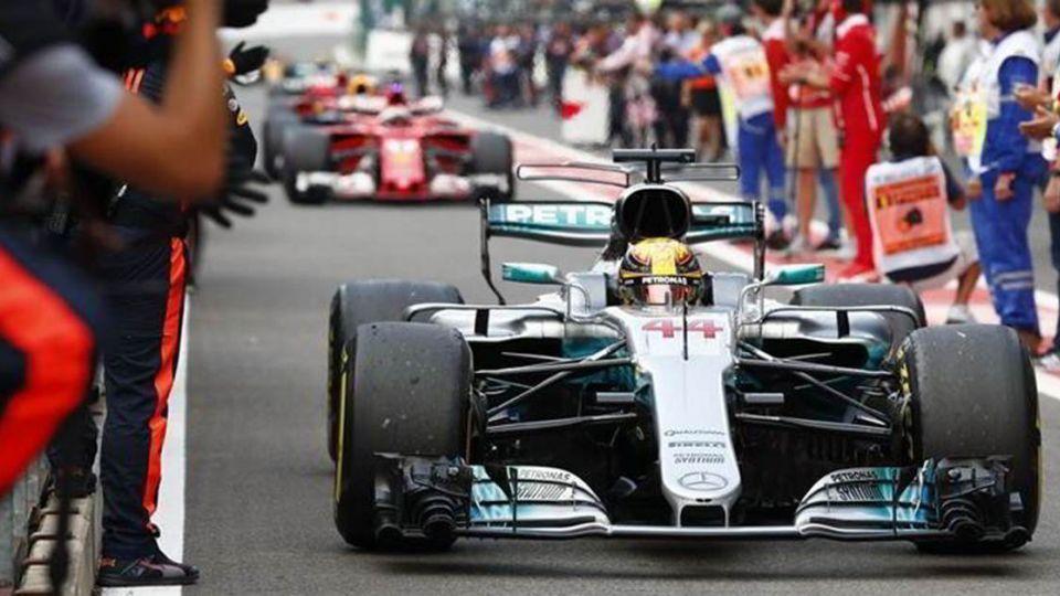 F1比利時:Mercedes-AMG大戰法拉利 決勝關鍵竟是「胎」