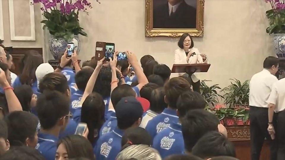 為台灣英雄打氣!蔡總統接見:令人感動的12天