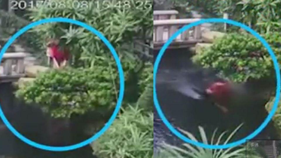 【影片】「無人豪宅」女傭離奇失蹤 監視器拍下驚人一幕