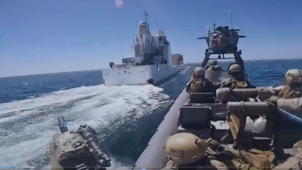 東森獨家直擊!體檢美國海軍艦艇