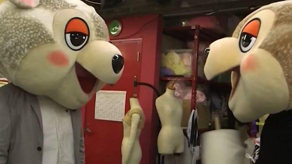 可愛吉祥物「熊讚」正夯 東京開吉祥物特訓班