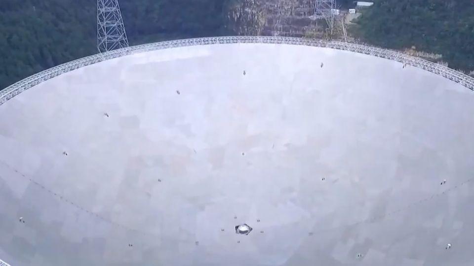 接收宇宙訊息 世界最大「天眼」尋找外星人