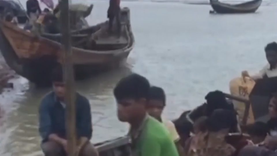 躲避緬甸軍政府屠殺 羅興亞童逃難慘溺斃