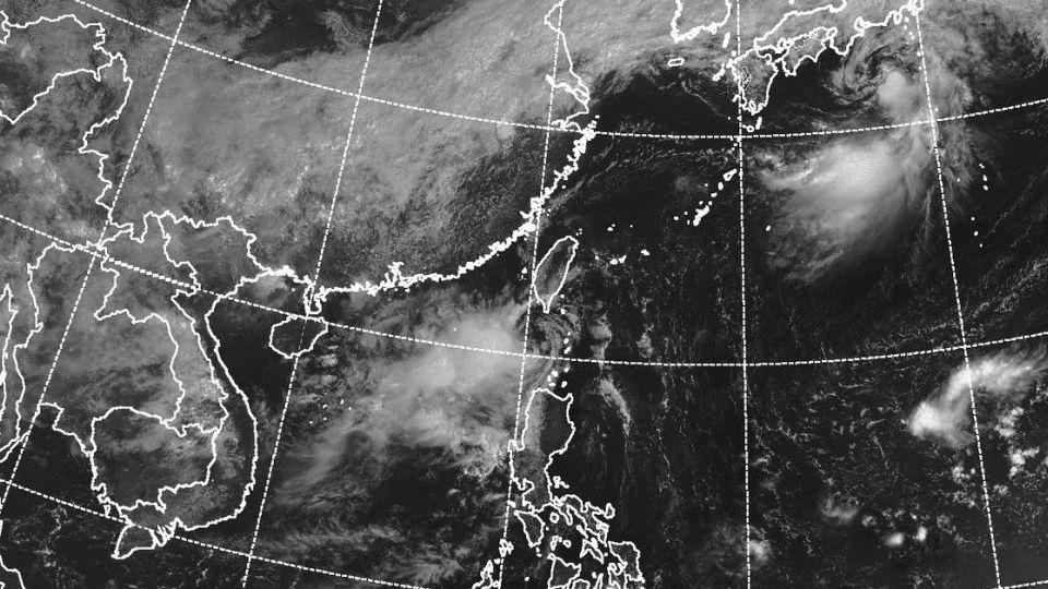 準備下雨!颱風谷超生成10:30發海警 「這兩天」離台最近