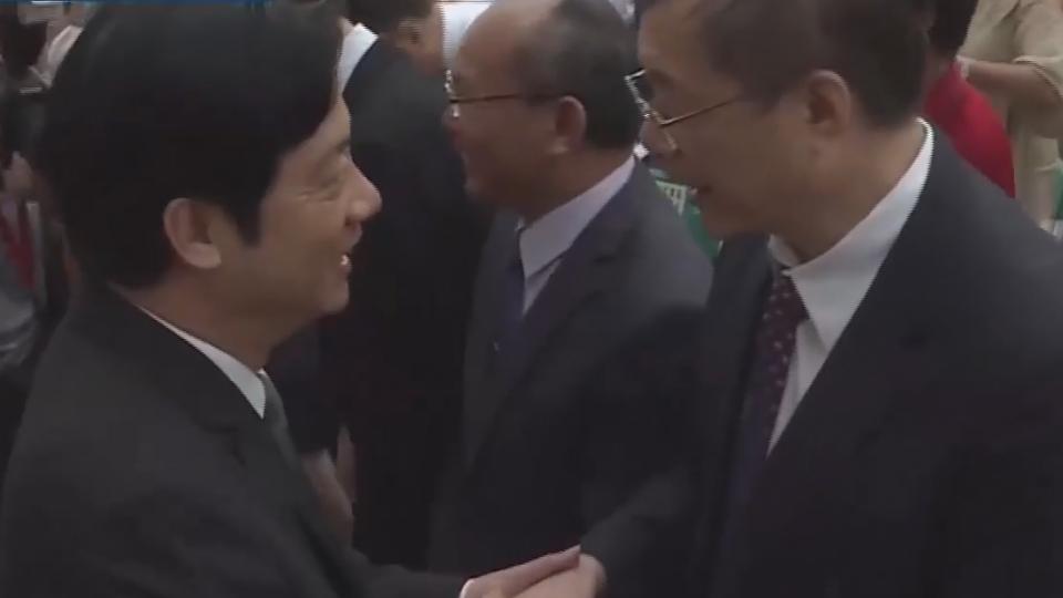準閣揆卸任市長職 賴神哽咽謝市民栽培