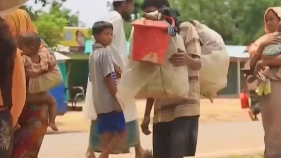 緬甸血腥鎮壓羅興亞人 12萬難民湧入孟加拉