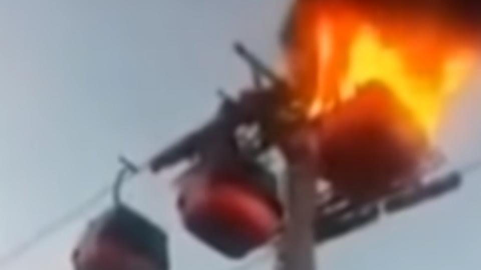 巴勒斯坦纜車火17死變陸事故 張家界喊冤栽贓
