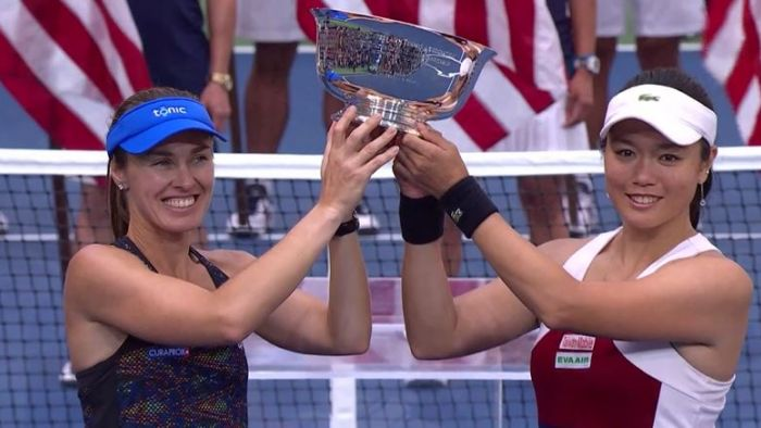 台第1人!詹詠然美網奪女雙冠軍 為退賽「致歉」謝政鵬