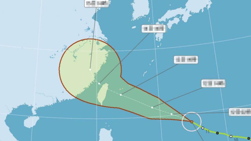 恐達強颱!泰利轉中颱直撲 暴風圈擴大「這一天」壟罩全台