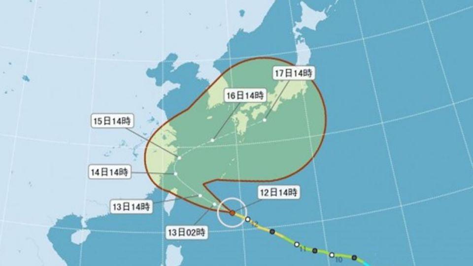 泰利還沒發布陸警! 「這間學校」宣布放颱風假2.5天