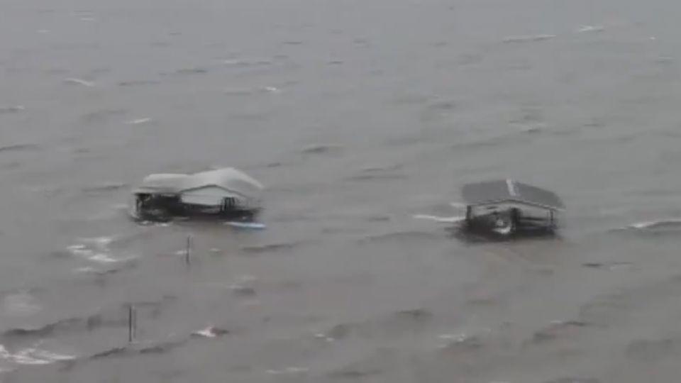 「艾瑪」橫掃佛州 740萬戶停電 吸乾海水又回潮