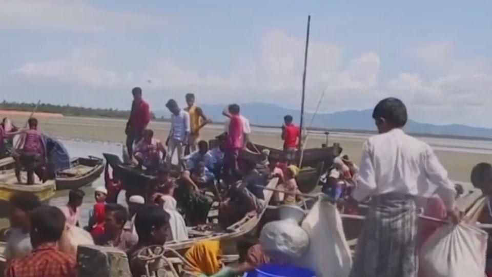 37萬羅興亞人悲慘逃難 翁山蘇姬為何無視?
