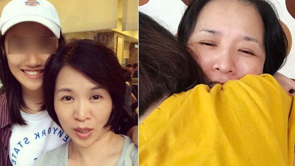 再也堅強不了!名嘴17歲女兒抗血癌 情緒終潰堤「抱姐痛哭」