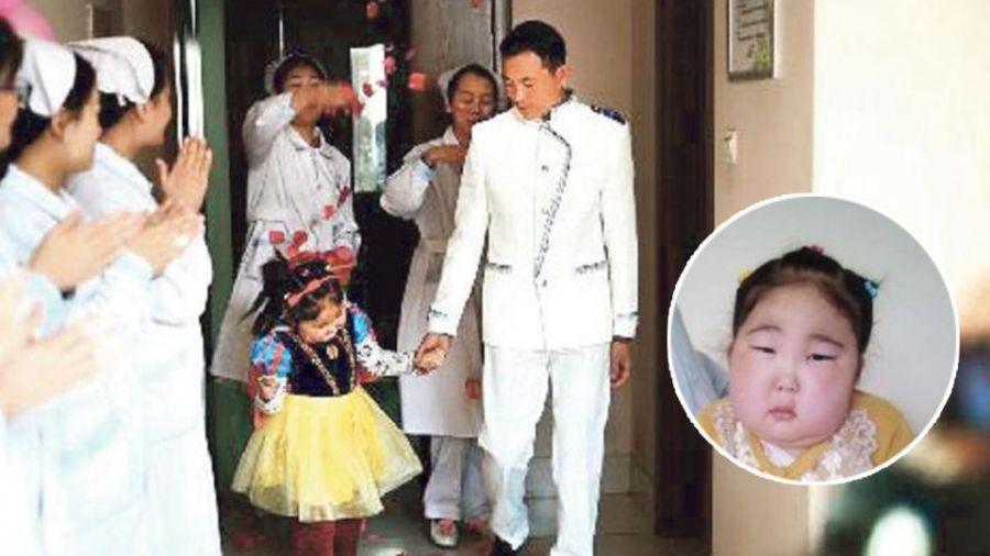 【好文回顧】10天2次病危!6歲病重女嫁親爸 一圓公主結婚夢